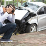 Dopravní nehoda v Anglii